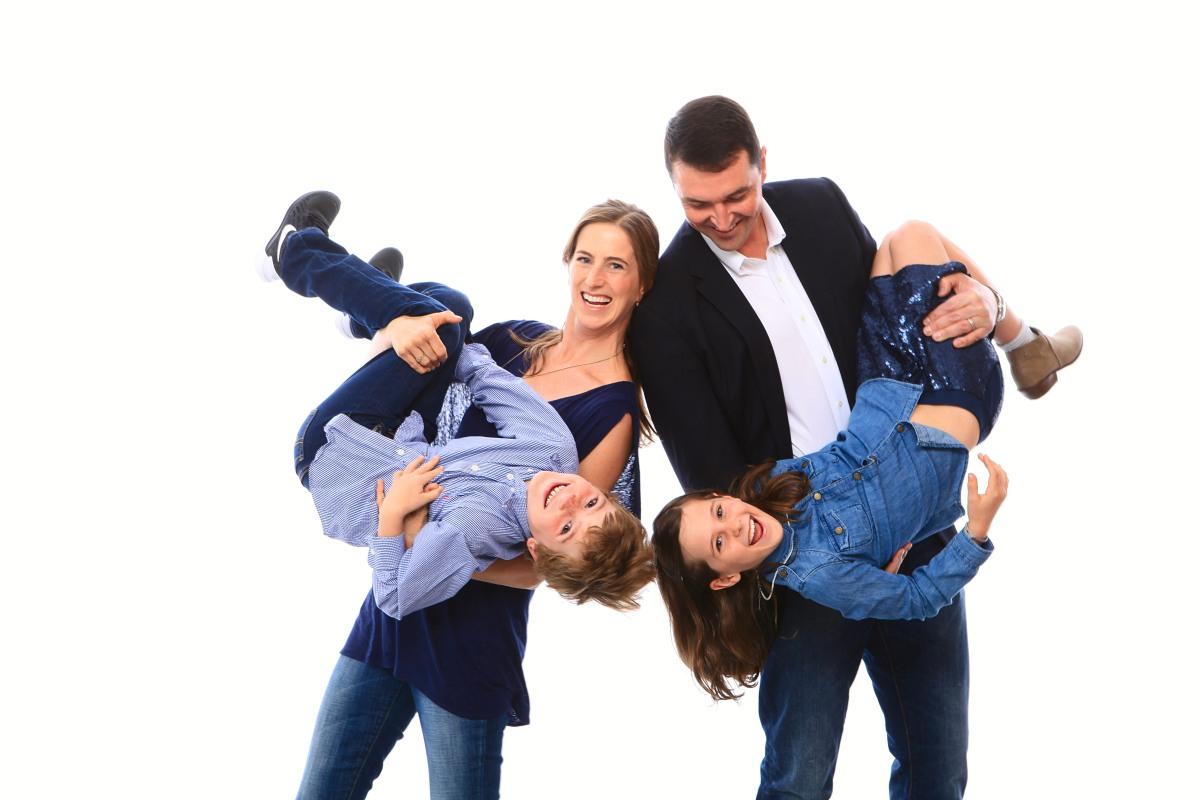 Family Photo Shoot at Blink Inc